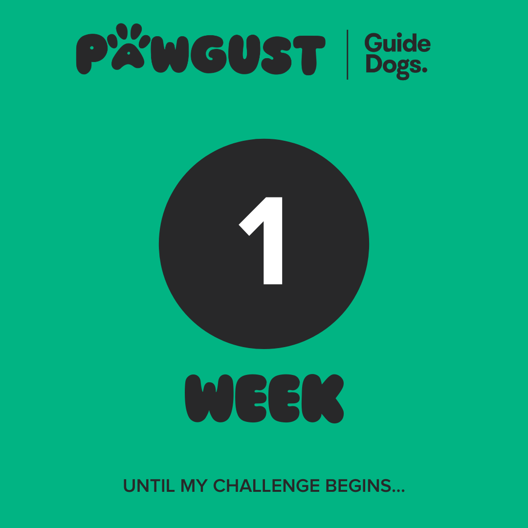 1 Week to go