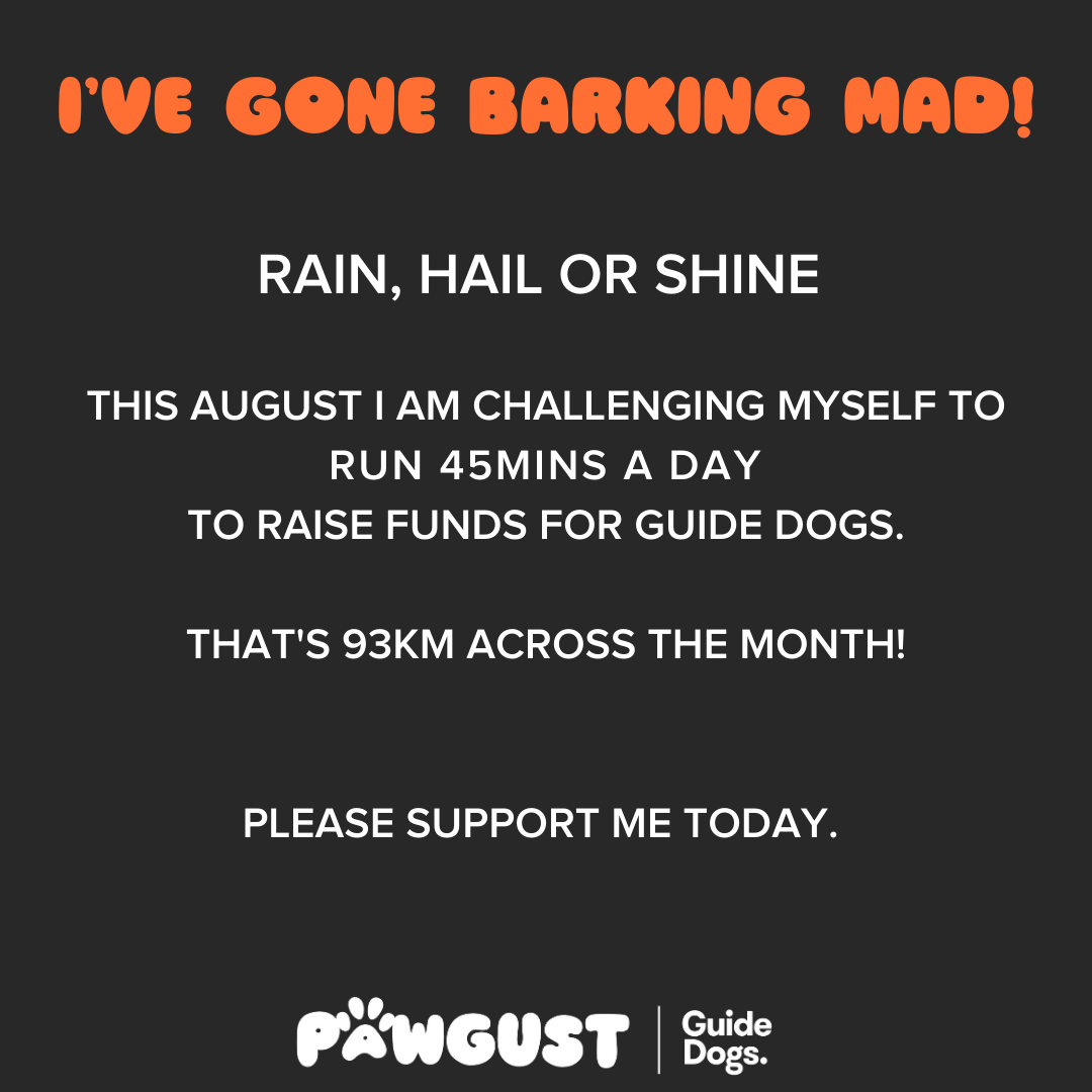 Running 45mins - Barking Mad!
