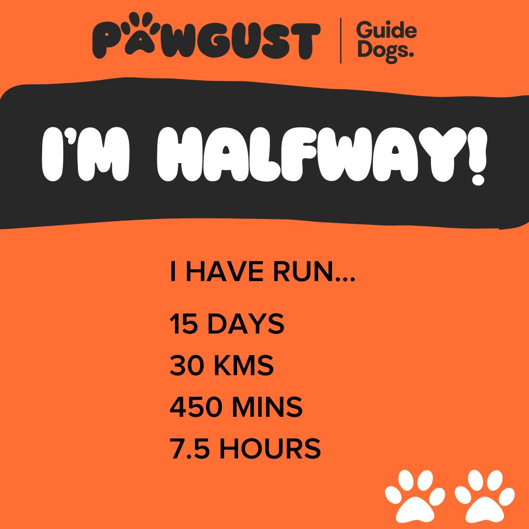 I'm Halfway - Running