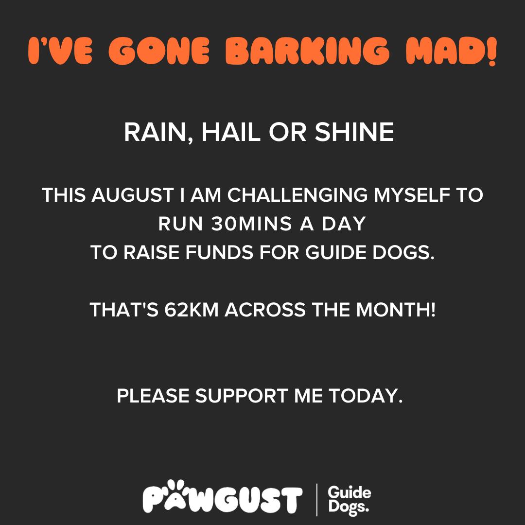 Running 30mins - Barking Mad!