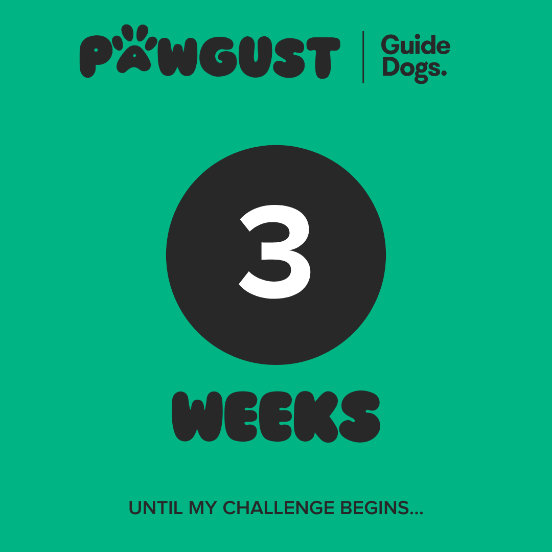 3 Weeks to go