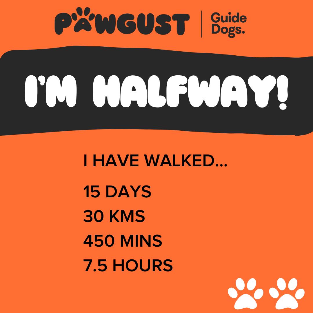 I'm Halfway - Walking