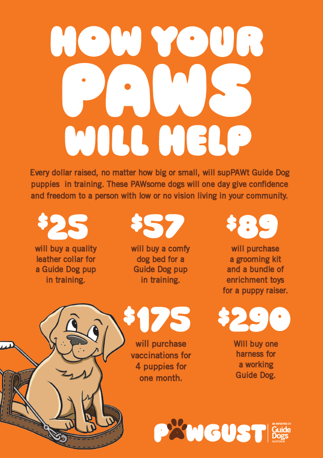 How your PAWS will help poster