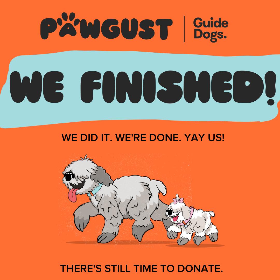 We Finished!