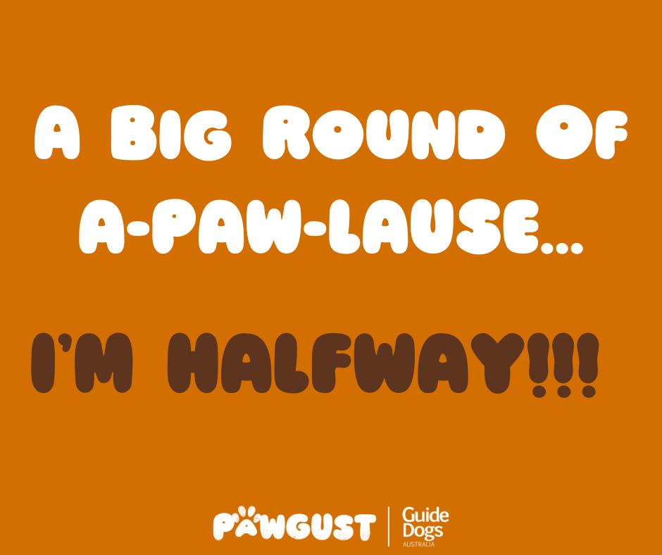 I'm Halfway!