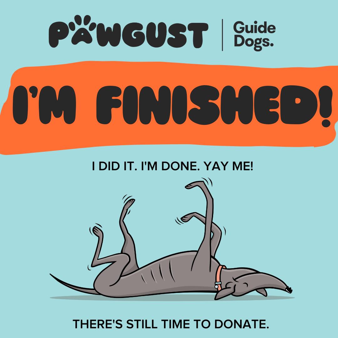 I'm Finished!